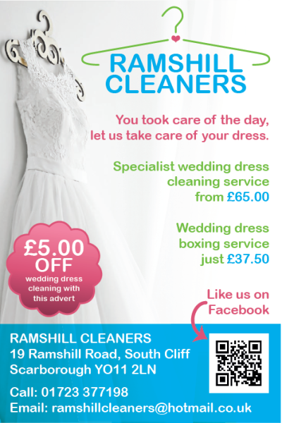 Wedding Dress Cleaning & Boxing